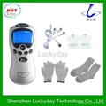 Dual digital therapy tens massager with