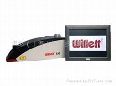 Willett 830 激光打碼機