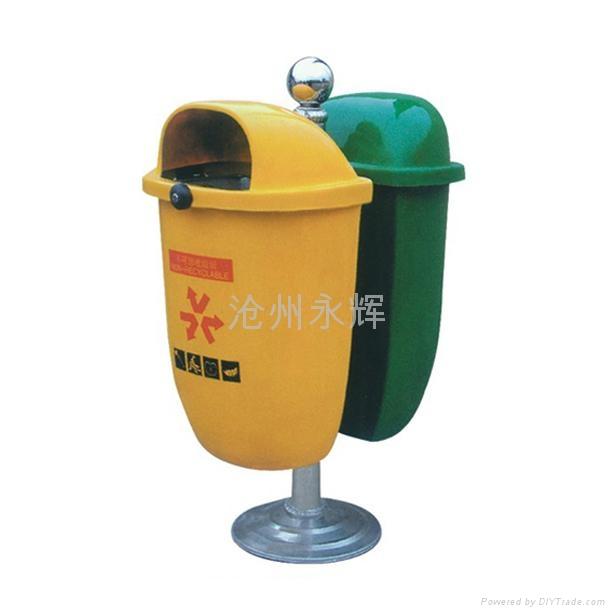 玻璃钢垃圾桶 3
