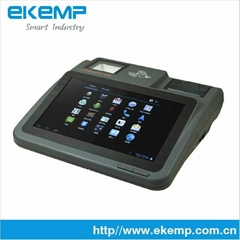 Android Tablet Touch Screen RFID Barcode Pos Terminal with 3G Wifi