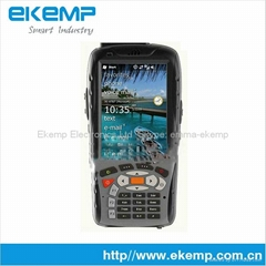 Industrial PDA with barcode scanner and RFID reader supports GPRS/WIFI