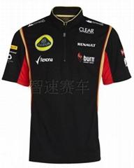 Lotus F1 Team 2013 Replica Zip Polo