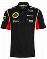 Lotus F1 Team 2013 Replica Zip Polo 4