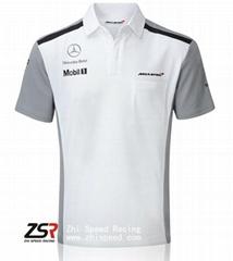 2014 F1 McLaren Team Shirt Jenson Button Kevin Magnussen