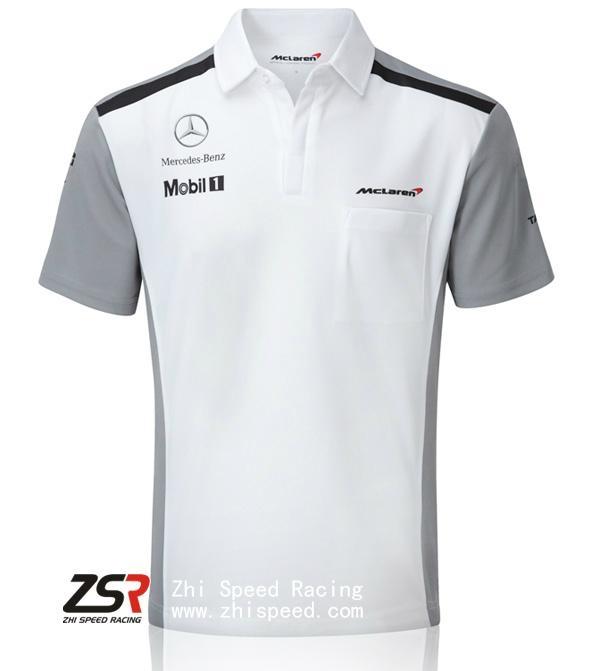 2014 F1 McLaren Team Shirt Jenson Button Kevin Magnussen  1