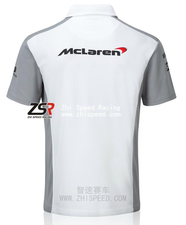2014 F1 McLaren Team Shirt Jenson Button Kevin Magnussen  2