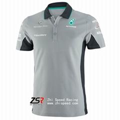 Mercedes AMG Petronas F1 2014 Team Polo Grey
