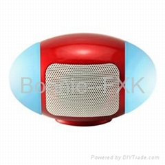 Digital Mini Speaker with LED light/USB/Micro SD card/FM Radio