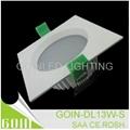 13W Square SMD SAA downlight kit 3.5