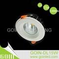 15W COB downlight kit dimmable SAA