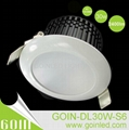 30W SMD5630 LED downlight dimmable SAA