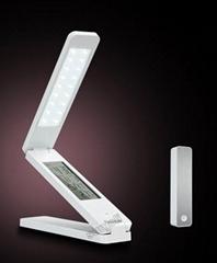 eye protection led desk lamp with calendar