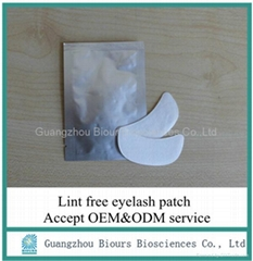 New beauty and personal products hydrogel under eye patch for eyelash extension