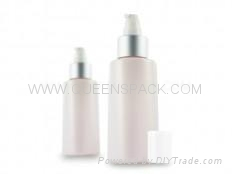 110ml lotion bottle with pump for cosmetic packaging QS2060