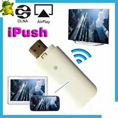 iPush Push2TV Chromecast miracast dongle HDMI wifi dongle allshare cast Miracast