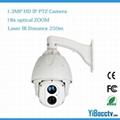 1.3 Megapixel IP HD PTZ Dome Camera High