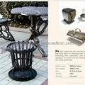 outdoor metal fire box