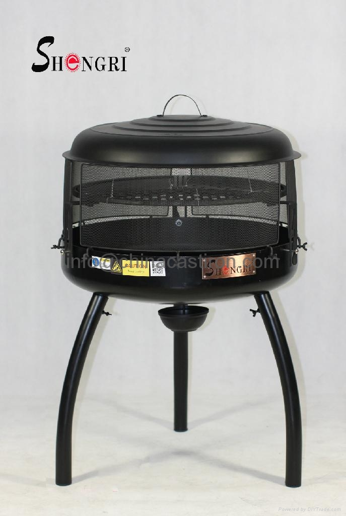 charcoal bbq grill fire pit srbq 2311 shengri china trading company tableware home. Black Bedroom Furniture Sets. Home Design Ideas