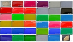 Colors Acrylic Plexiglass sheet