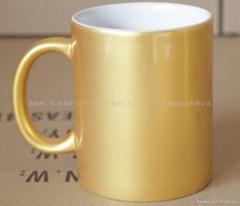 转印专用闪光杯 珠光杯 涂层杯 厂家供货