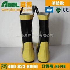 欧标CE认证出口专消防员用消防靴
