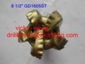 8-1/2 GD1606ST Matrix Body PDC Bits