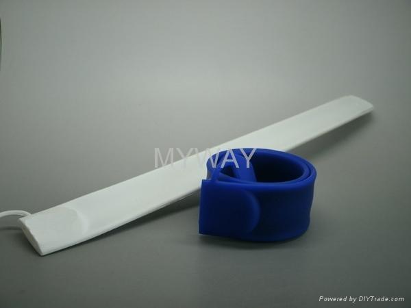 Silicone slap bracelet usb memory stick 8gb 2