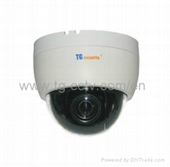 600TVL SONY CCD High Speed Dome Camera