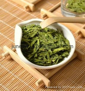High quality China green tea dragon longjing well tea lungching tea cha 4