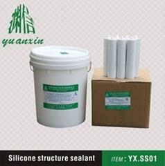Silicone structure sealant