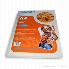 Inkjet Photo Paper, Suitable for Dye and Pigment Desktop Printers, Water-resista