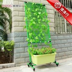 Balcony greening stand