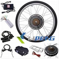"24V 250W 26"" Rear Wheel Electric Bicycle Motor Kit E-Bike Cycling Hub Conversion"