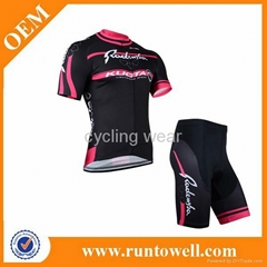 2014 Latest sublimation women bicycle clothing, jersey, shirt