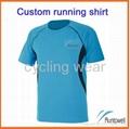 t shirt for women / custom running shirt / quick dry running shirts 1