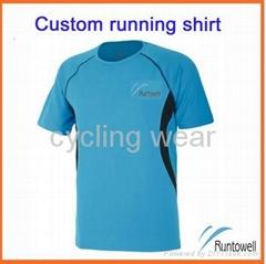 t shirt for women / custom running shirt / quick dry running shirts