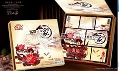 廣州粵皇富貴人家月餅禮盒750克