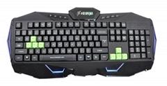 供应游戏键盘挑战者Q9