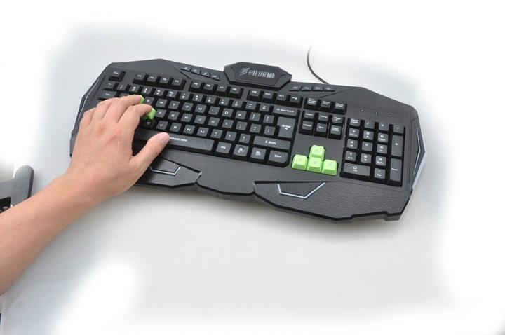 供应游戏键盘挑战者Q9 3