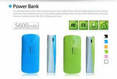 Portable 5600mAh External Battery Charger Power back For iphone nokia ipad ect