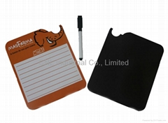 Promotion gift paper magnetic writing board with customized printing