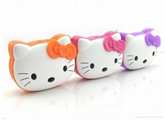 Digital Kitty Cat Mini Speaker for MP3