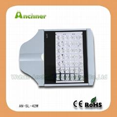 42w led street lights fixture; 42w led road light