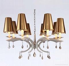 Modern Iron crystal chandelier