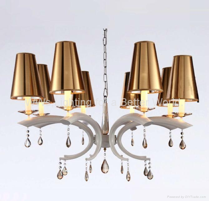 Modern Iron crystal chandelier 1