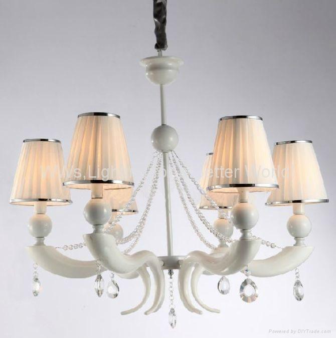 Modern Iron crystal chandelier 2