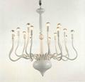 Modern Iron crystal chandelier 3