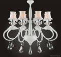 Modern Iron crystal chandelier 4