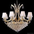 Modern Iron crystal chandelier 5