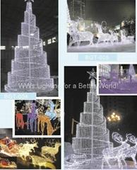 Christmas decoration light-Christmas tree light-Santaclaus-reindeer-LED snowman